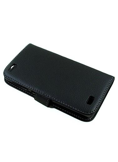 Microsonic Cüzdanlı Deri Kılıf - General Mobile Discovery - Siyah Renkli